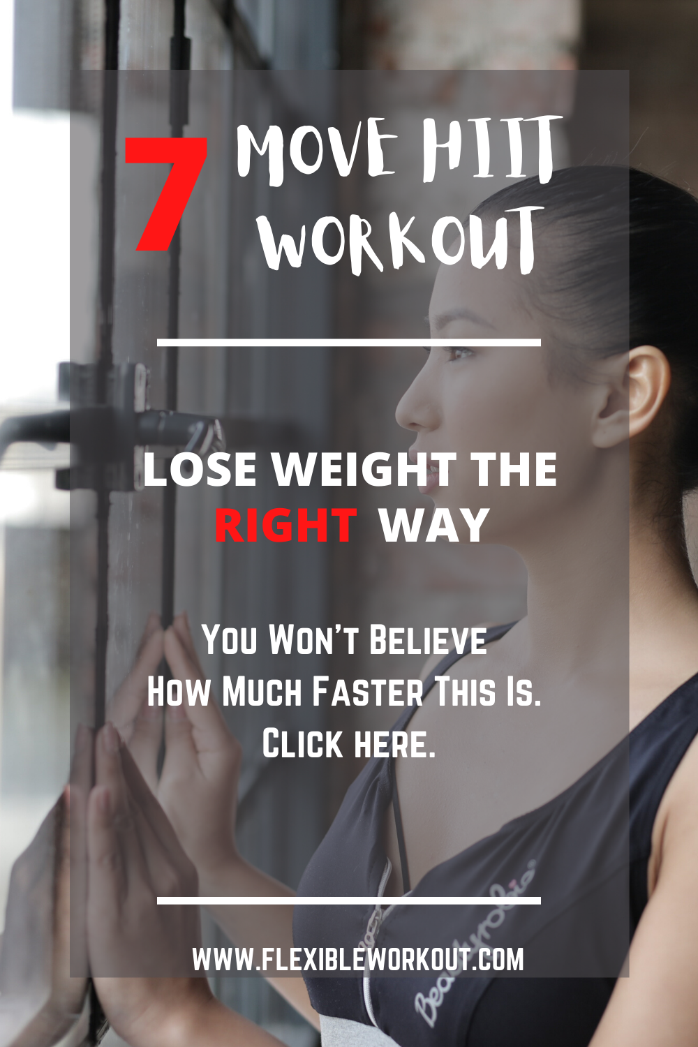 7 Move Hiit workout you wont believe- pin