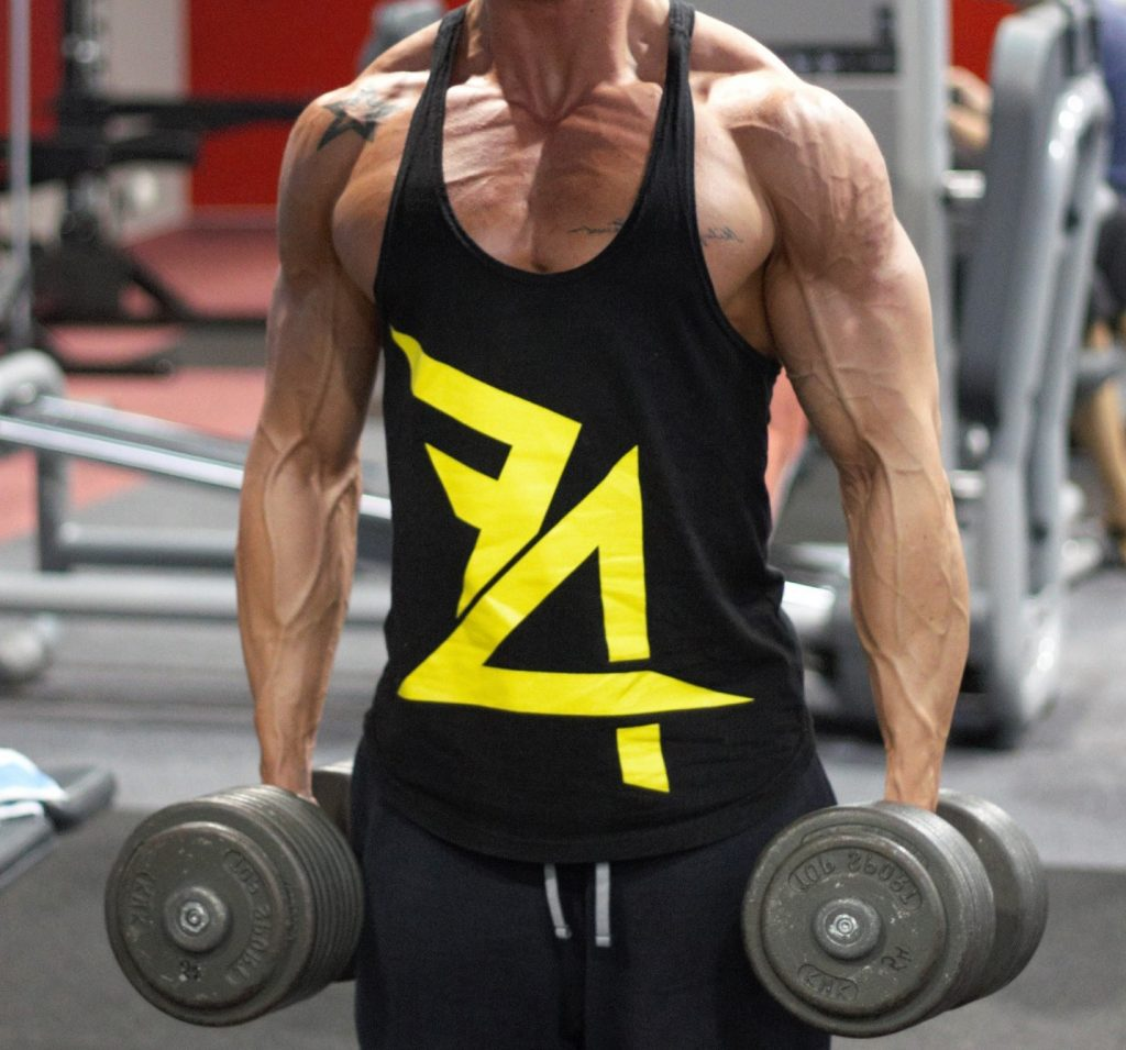 How to get veiny arms