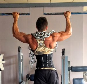 Pull Up Bar Exercises- wide grip pull up
