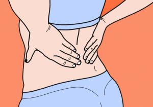 lower back pain foam roller on lower back