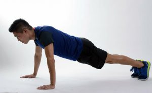 Flexible exercise for men