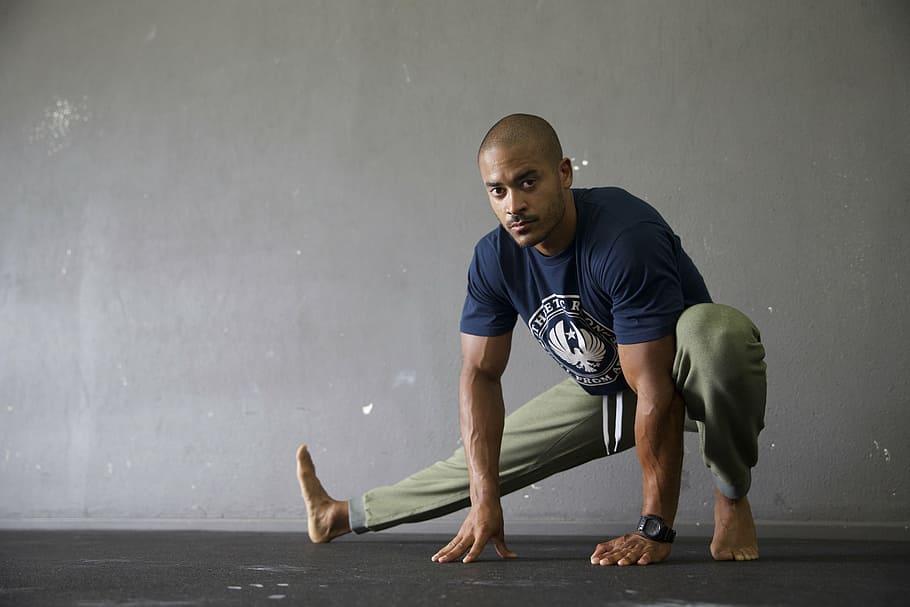 Flexible workout for men