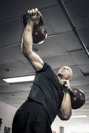 High intensity kettlebell training