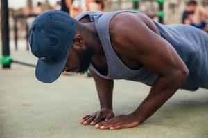 push up prisoner style workout