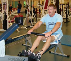 row machine- endurance exercise