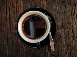 Lose weight while sleeping- black coffee